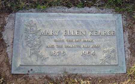 KEARSE, MARY ELLEN - Maricopa County, Arizona   MARY ELLEN KEARSE - Arizona Gravestone Photos