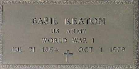 KEATON, BASIL - Maricopa County, Arizona | BASIL KEATON - Arizona Gravestone Photos