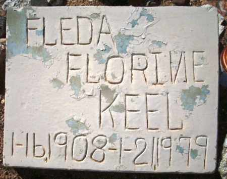 GARLAND KEEL, FLEDA FLORINE - Maricopa County, Arizona | FLEDA FLORINE GARLAND KEEL - Arizona Gravestone Photos