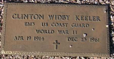 KEELER, CLINTON WIDBY - Maricopa County, Arizona   CLINTON WIDBY KEELER - Arizona Gravestone Photos