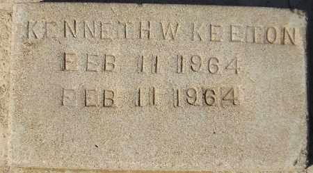 KEETON, KENNETH W. - Maricopa County, Arizona | KENNETH W. KEETON - Arizona Gravestone Photos