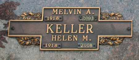 KELLER, MELVIN A - Maricopa County, Arizona | MELVIN A KELLER - Arizona Gravestone Photos