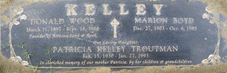 KELLEY, DONALD WOOD - Maricopa County, Arizona | DONALD WOOD KELLEY - Arizona Gravestone Photos