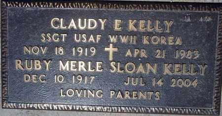 KELLY, RUBY MERLE - Maricopa County, Arizona | RUBY MERLE KELLY - Arizona Gravestone Photos