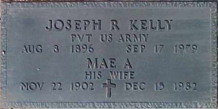 KELLY, MAE A. - Maricopa County, Arizona | MAE A. KELLY - Arizona Gravestone Photos