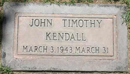 KENDALL, JOHN TIMOTHY - Maricopa County, Arizona | JOHN TIMOTHY KENDALL - Arizona Gravestone Photos