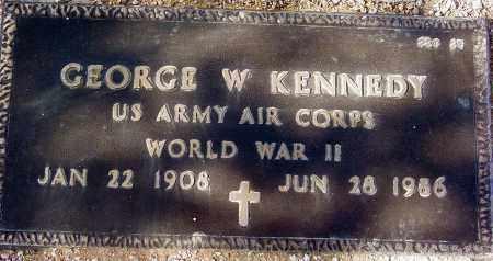 KENNEDY, GEORGE W. - Maricopa County, Arizona   GEORGE W. KENNEDY - Arizona Gravestone Photos