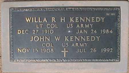 KENNEDY, WILLA R. H. - Maricopa County, Arizona | WILLA R. H. KENNEDY - Arizona Gravestone Photos