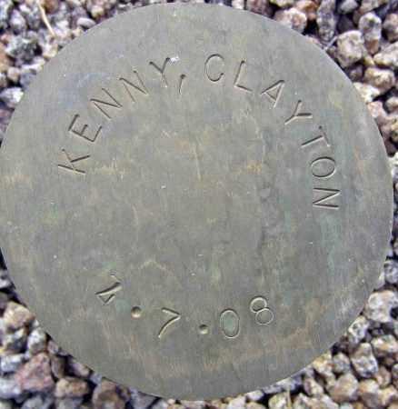 KENNY, CLAYTON - Maricopa County, Arizona | CLAYTON KENNY - Arizona Gravestone Photos