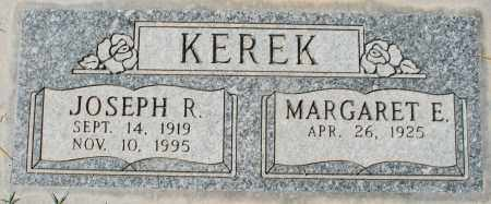 KEREK, JOSEPH R - Maricopa County, Arizona | JOSEPH R KEREK - Arizona Gravestone Photos