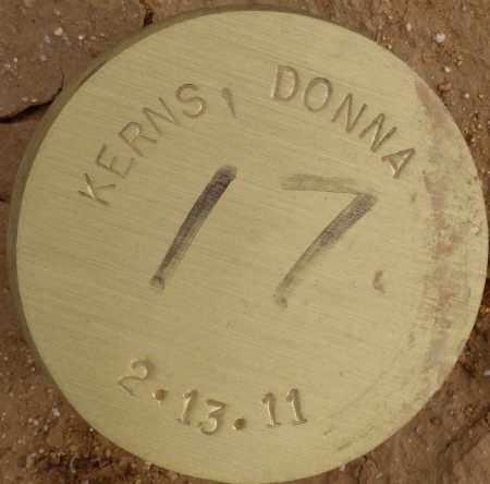 KERNS, DONNA - Maricopa County, Arizona | DONNA KERNS - Arizona Gravestone Photos