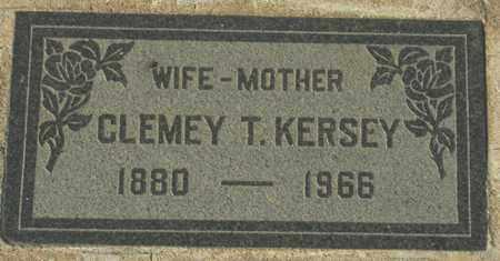 KERSEY, CLEMEY T. - Maricopa County, Arizona | CLEMEY T. KERSEY - Arizona Gravestone Photos