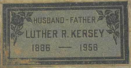 KERSEY, LUTHER R. - Maricopa County, Arizona | LUTHER R. KERSEY - Arizona Gravestone Photos