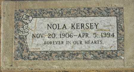 KERSEY, NOLA - Maricopa County, Arizona   NOLA KERSEY - Arizona Gravestone Photos