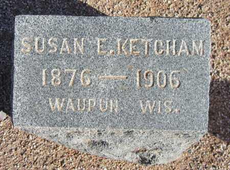 KETCHAM, SUSAN E. - Maricopa County, Arizona | SUSAN E. KETCHAM - Arizona Gravestone Photos