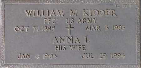 KIDDER, ANNA L - Maricopa County, Arizona | ANNA L KIDDER - Arizona Gravestone Photos