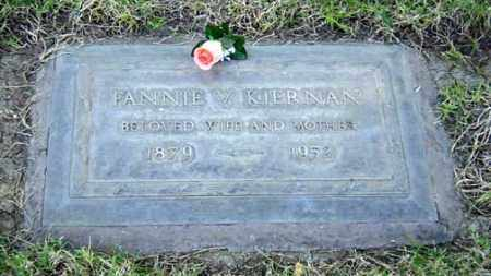 "KIERNAN, FRANCES ""FANNIE"" VIOLA - Maricopa County, Arizona   FRANCES ""FANNIE"" VIOLA KIERNAN - Arizona Gravestone Photos"