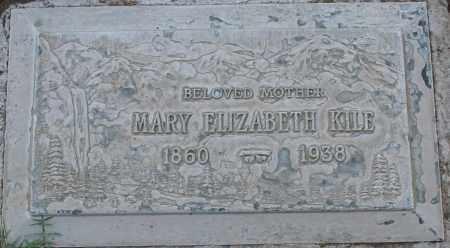 KILE, MARY ELIZABETH - Maricopa County, Arizona | MARY ELIZABETH KILE - Arizona Gravestone Photos