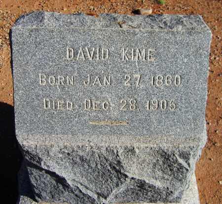 KIME, DAVID - Maricopa County, Arizona | DAVID KIME - Arizona Gravestone Photos