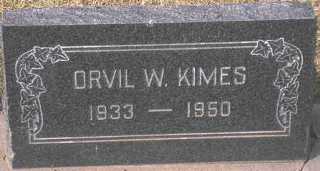 KIMES, ORVIL W. - Maricopa County, Arizona | ORVIL W. KIMES - Arizona Gravestone Photos