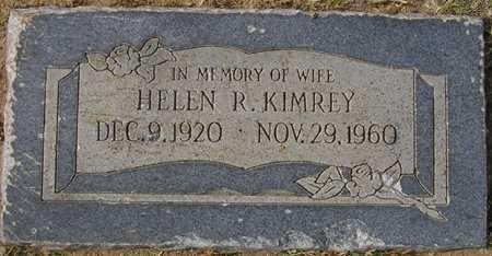 KIMREY, HELEN R. - Maricopa County, Arizona   HELEN R. KIMREY - Arizona Gravestone Photos