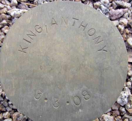 KING, ANTHONY - Maricopa County, Arizona | ANTHONY KING - Arizona Gravestone Photos