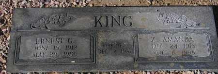 KING, Z. AMANDA - Maricopa County, Arizona   Z. AMANDA KING - Arizona Gravestone Photos