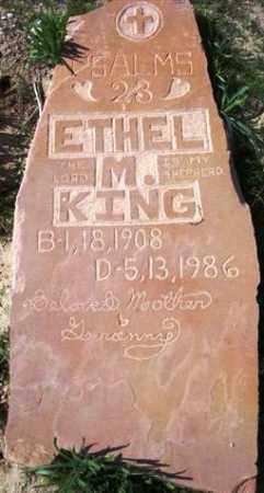 KING, ETHEL M. - Maricopa County, Arizona | ETHEL M. KING - Arizona Gravestone Photos