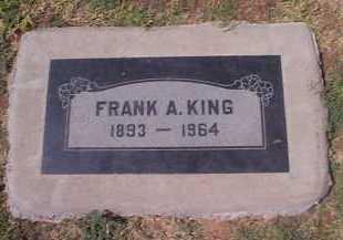 KING, FRANK A. - Maricopa County, Arizona | FRANK A. KING - Arizona Gravestone Photos