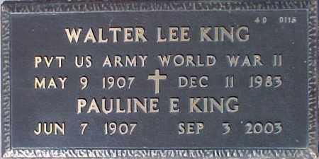 KING, PAULINE E. - Maricopa County, Arizona   PAULINE E. KING - Arizona Gravestone Photos
