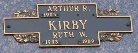 KIRBY, ARTHUR R - Maricopa County, Arizona | ARTHUR R KIRBY - Arizona Gravestone Photos