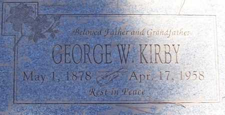KIRBY, GEORGE W. - Maricopa County, Arizona | GEORGE W. KIRBY - Arizona Gravestone Photos