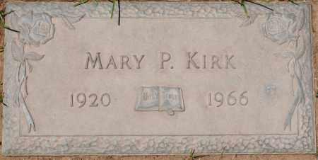 KIRK, MARY P. - Maricopa County, Arizona | MARY P. KIRK - Arizona Gravestone Photos