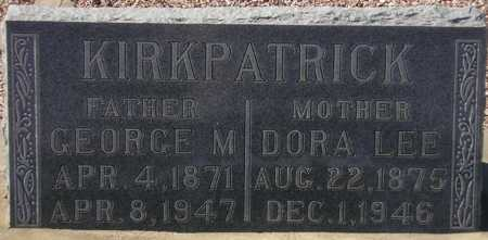 KIRKPATRICK, DORA LEE - Maricopa County, Arizona | DORA LEE KIRKPATRICK - Arizona Gravestone Photos