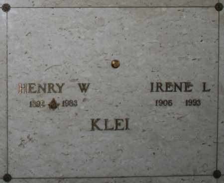 KLEI, HENRY W - Maricopa County, Arizona | HENRY W KLEI - Arizona Gravestone Photos