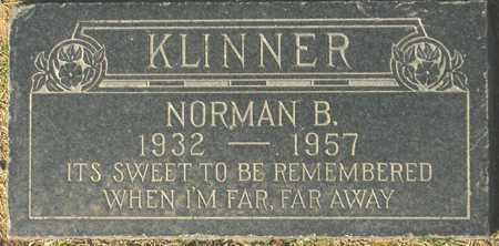 KLINNER, NORMAN B. - Maricopa County, Arizona | NORMAN B. KLINNER - Arizona Gravestone Photos