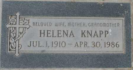 KNAPP, HELENA - Maricopa County, Arizona | HELENA KNAPP - Arizona Gravestone Photos