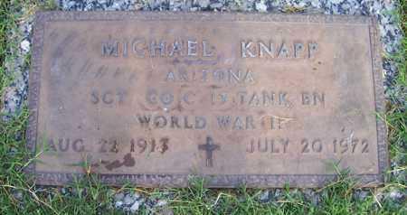 KNAPP, MICHAEL - Maricopa County, Arizona | MICHAEL KNAPP - Arizona Gravestone Photos