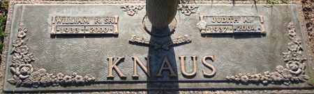 KNAUS, WILLIAM R. SR. - Maricopa County, Arizona | WILLIAM R. SR. KNAUS - Arizona Gravestone Photos