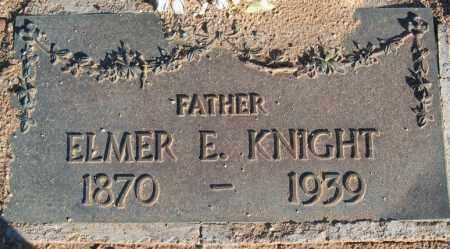 KNIGHT, ELMER E. - Maricopa County, Arizona | ELMER E. KNIGHT - Arizona Gravestone Photos