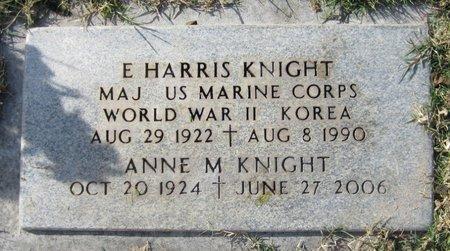 MOORE KNIGHT, ANNE M - Maricopa County, Arizona | ANNE M MOORE KNIGHT - Arizona Gravestone Photos
