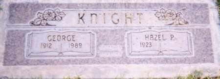 KNIGHT, HAZEL P. - Maricopa County, Arizona | HAZEL P. KNIGHT - Arizona Gravestone Photos