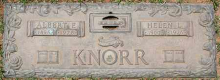 KNORR, HELEN L. - Maricopa County, Arizona | HELEN L. KNORR - Arizona Gravestone Photos