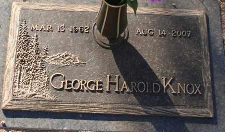 KNOX, GEORGE HAROLD - Maricopa County, Arizona | GEORGE HAROLD KNOX - Arizona Gravestone Photos
