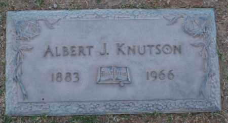 KNUTSON, ALBERT J - Maricopa County, Arizona | ALBERT J KNUTSON - Arizona Gravestone Photos
