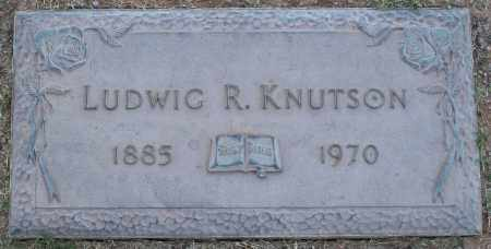 KNUTSON, LUDWIG R - Maricopa County, Arizona | LUDWIG R KNUTSON - Arizona Gravestone Photos