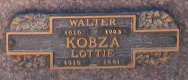 KOBZA, LOTTIE - Maricopa County, Arizona | LOTTIE KOBZA - Arizona Gravestone Photos