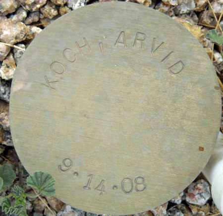 KOCH, ARVID - Maricopa County, Arizona | ARVID KOCH - Arizona Gravestone Photos