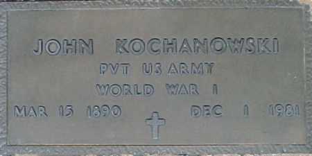 KOCHANOWSKI, JOHN - Maricopa County, Arizona | JOHN KOCHANOWSKI - Arizona Gravestone Photos
