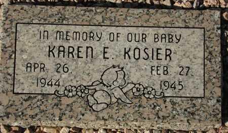 KOSIER, KAREN E. - Maricopa County, Arizona | KAREN E. KOSIER - Arizona Gravestone Photos